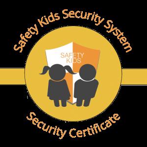 certificado de seguridad infantil centros educativos oro